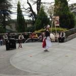 韓国伝統音楽演奏家の  ミン ・ジュノンさん